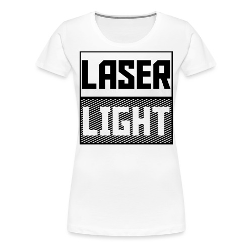 laser light design - Women's Premium T-Shirt