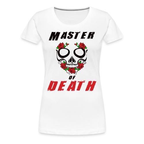 Master of death - black - Koszulka damska Premium
