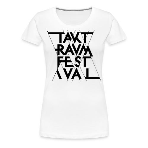ttf logo schwarz - Frauen Premium T-Shirt