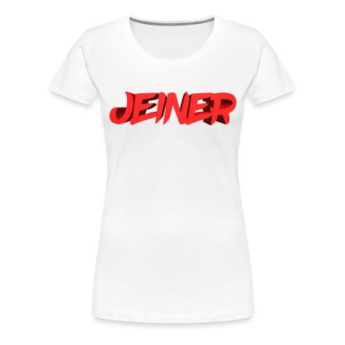 Jeiner 3D - Dame premium T-shirt