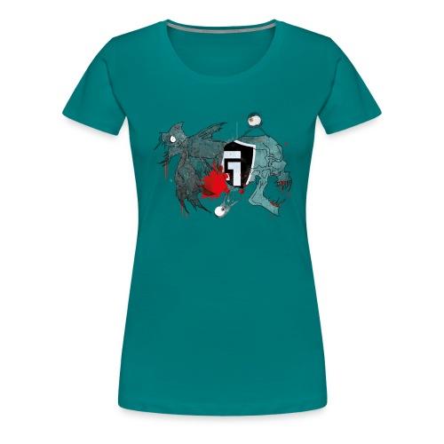 shirt2white1 - Women's Premium T-Shirt
