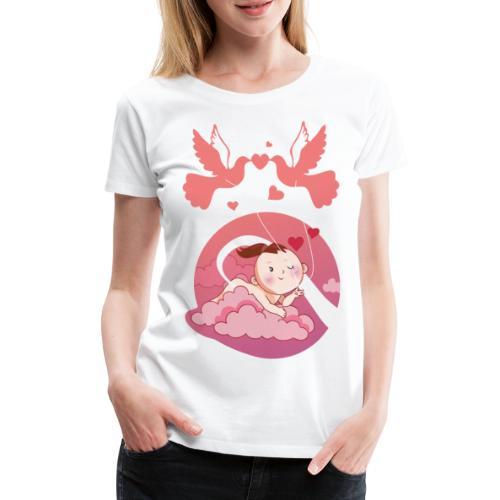 Süße Umstandsmode Schwangerschaft T-Shirt Mädchen - Frauen Premium T-Shirt