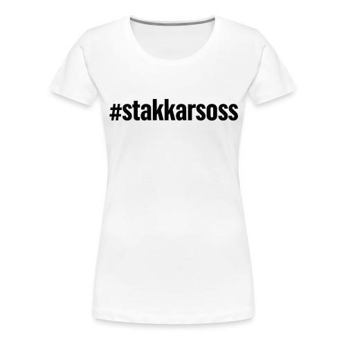 Stakkars emneknagglogo - Premium T-skjorte for kvinner