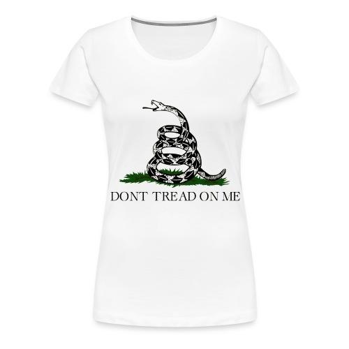 gadsden flag transparent png - Frauen Premium T-Shirt