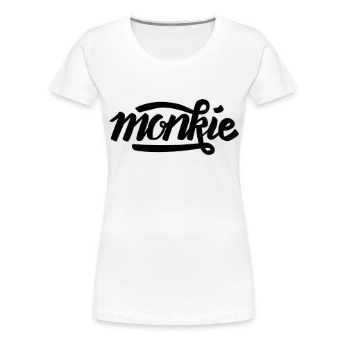 monkie - Vrouwen Premium T-shirt