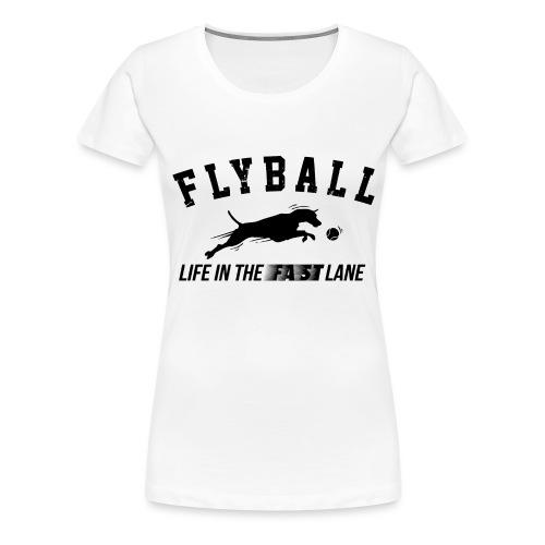 flyball - Women's Premium T-Shirt