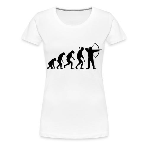 EvolutionArchery Noir - T-shirt Premium Femme