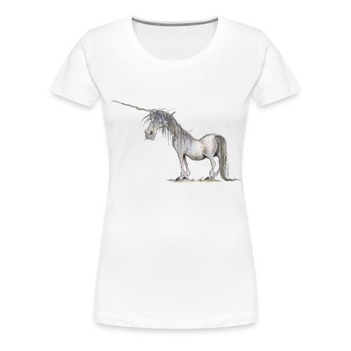 Das letzte Einhorn - Frauen Premium T-Shirt