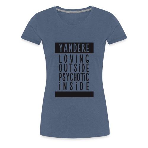 Yandere manga - Women's Premium T-Shirt