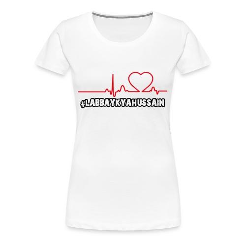 HeartBeat - Women's Premium T-Shirt