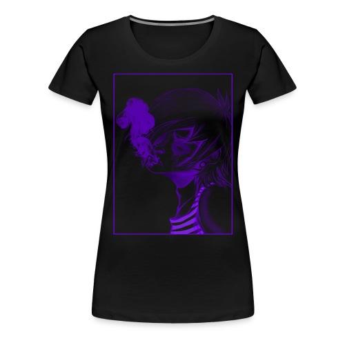 Smoky png - Frauen Premium T-Shirt