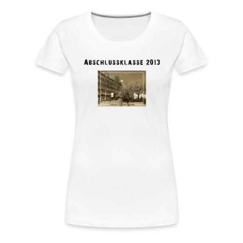 motiv abschlussklasse 2013 2 - Frauen Premium T-Shirt