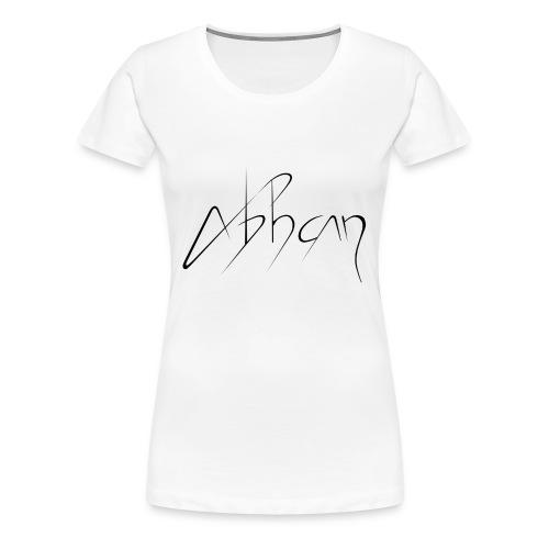 logo abhcan noir png - T-shirt Premium Femme