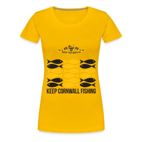 DFQC KCF - White - Women's Premium T-Shirt