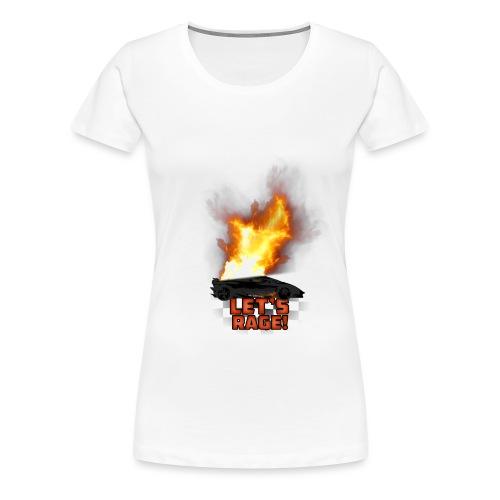 Let's Rage - Women's Premium T-Shirt