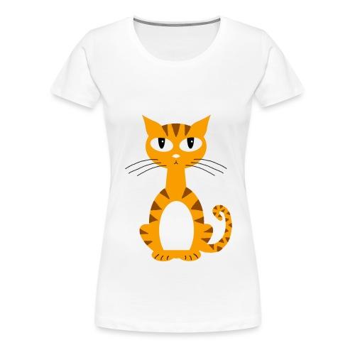 Ginger Puss - Women's Premium T-Shirt