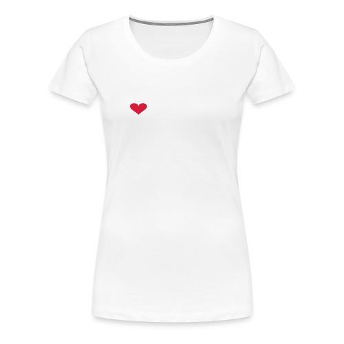 MY HEART BELONGS TO A BASS PLAYER - Women's Premium T-Shirt