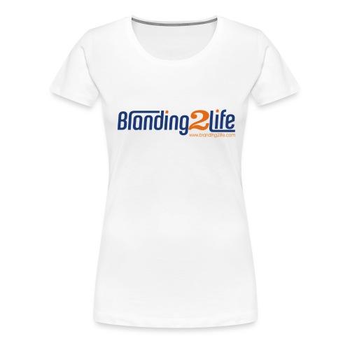 Branding2Life Logo - Women's Premium T-Shirt