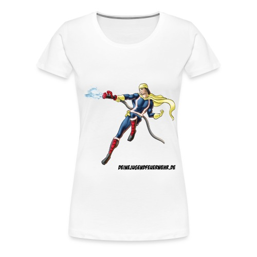 Captain Firefighter - Frauen Premium T-Shirt