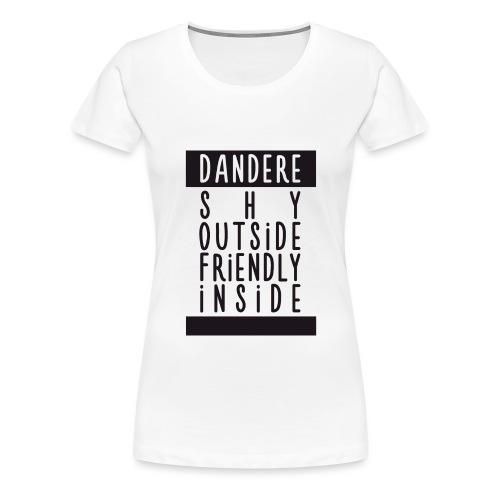 Dandere manga - Women's Premium T-Shirt