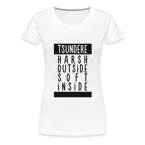 Tsundere manga - Women's Premium T-Shirt