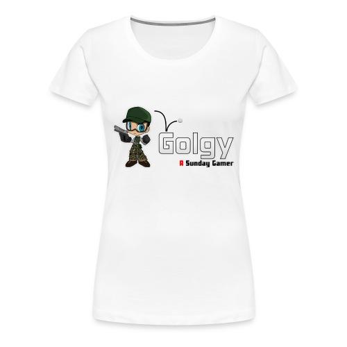 Logo Golgy 2018 V1 - T-shirt Premium Femme