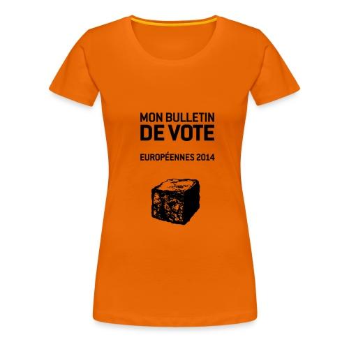 bulletin_europeene - T-shirt Premium Femme