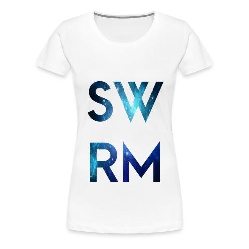 SWRM png - Frauen Premium T-Shirt