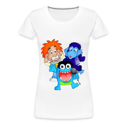Characters png - Women's Premium T-Shirt