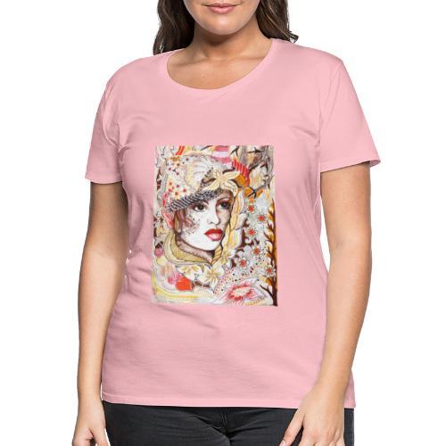 Tant Brun - Premium-T-shirt dam