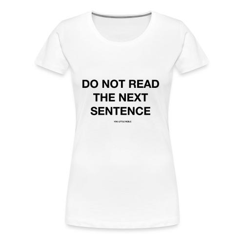 REBEL - Women's Premium T-Shirt