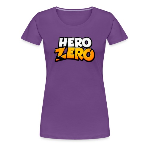 Hero Zero Logo - Women's Premium T-Shirt