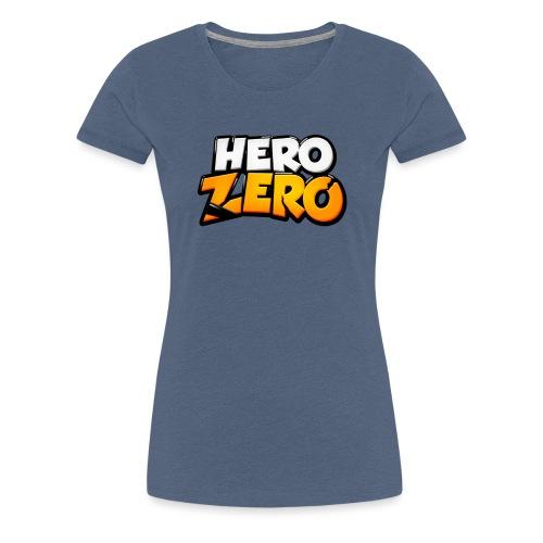 Hero Zero Logo - Women's Premium T-Shirt
