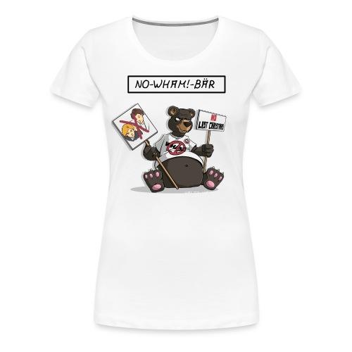 no wham bär - Frauen Premium T-Shirt