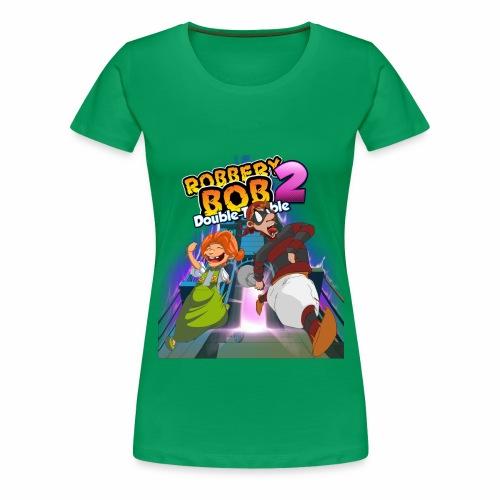 Robbery Bob and Cassie - Women's Premium T-Shirt