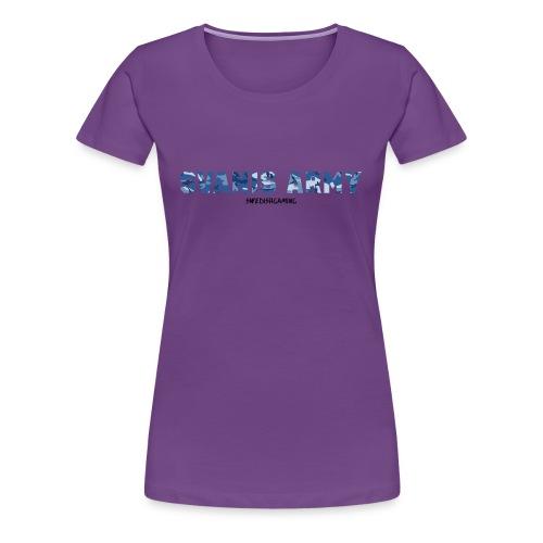SVANIS ARMY, SWEDISHGAMING - Premium-T-shirt dam