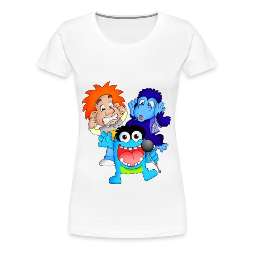 Characters png - Women's Premium T-Shirt