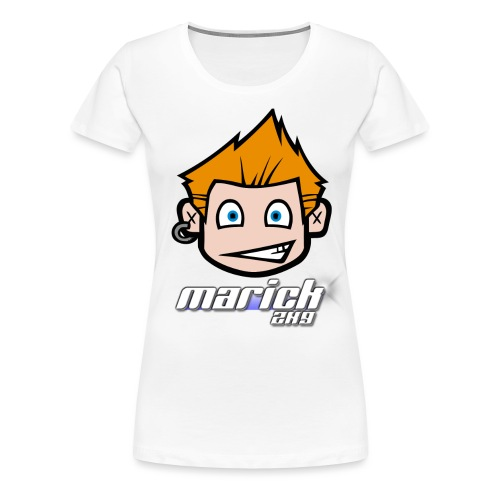 Marick2k9 Kopf - Frauen Premium T-Shirt