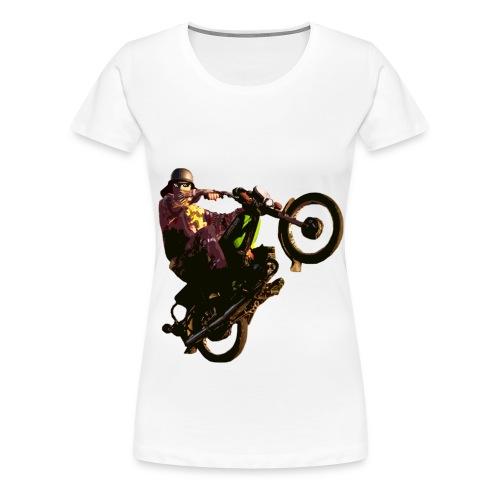 Feldwegheizer Wheelie - Frauen Premium T-Shirt