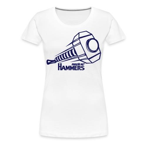 Logo + Name - Frauen Premium T-Shirt