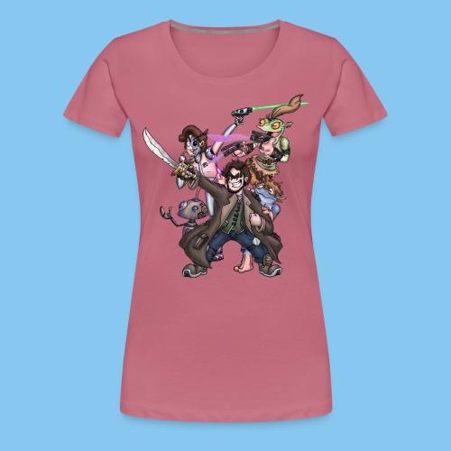 THE SQUAD png - Women's Premium T-Shirt