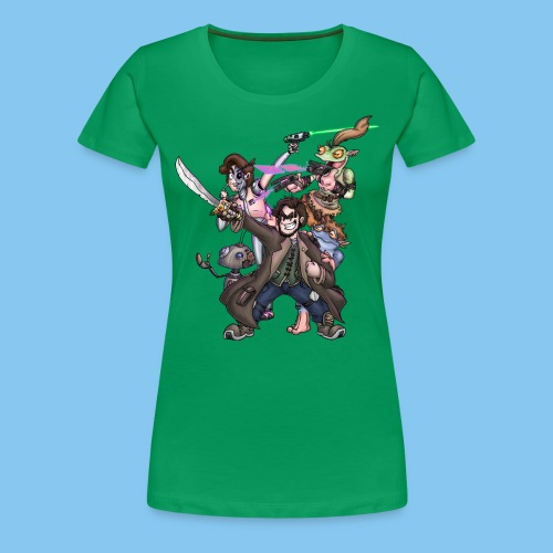 THE SQUAD png - Women's Premium T-Shirt
