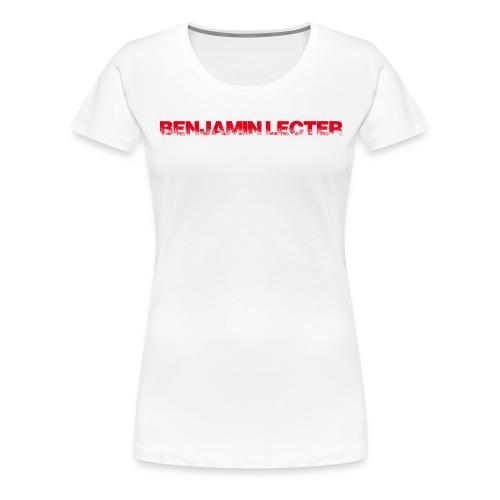 schriftzug r ohneh - Frauen Premium T-Shirt