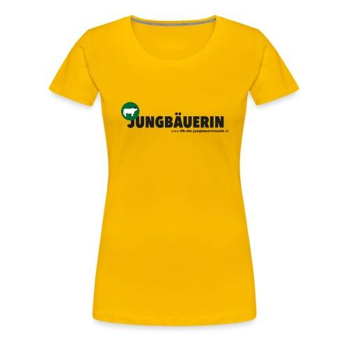 jungbaeuerin png - Frauen Premium T-Shirt