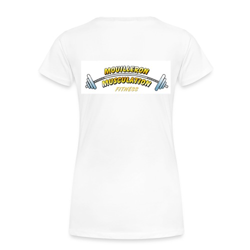 mouilleron muscu logo pour tee shirt 311 - T-shirt Premium Femme