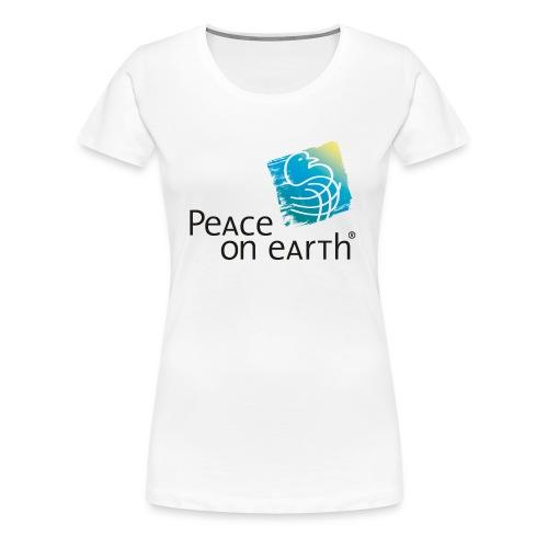peathlogo mit r back - Frauen Premium T-Shirt