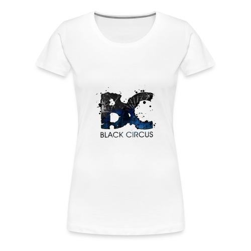 Black Circus Logo 13 png - Frauen Premium T-Shirt