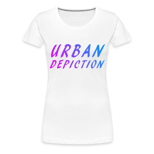 UD Fun Text Fun Colour png - Women's Premium T-Shirt