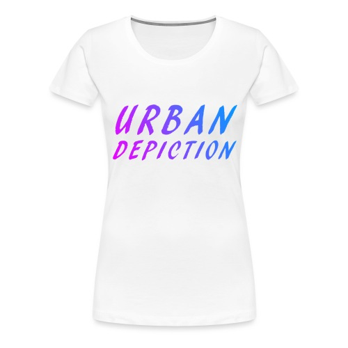 UD Fun Text Fun Colour png - Women's Premium T-Shirt