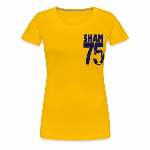 SHAM 75 - Women's Premium T-Shirt